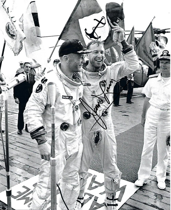 Jim Lovell signed Photo - Gemini 12 Mission