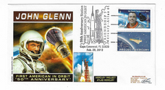 JOHN GLENN  50th ANNIVERSARY OF FRIENDSHIP 7 COVER