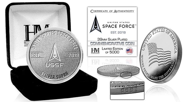 NEW USA Space Force Silver Coin - The Highland Mint