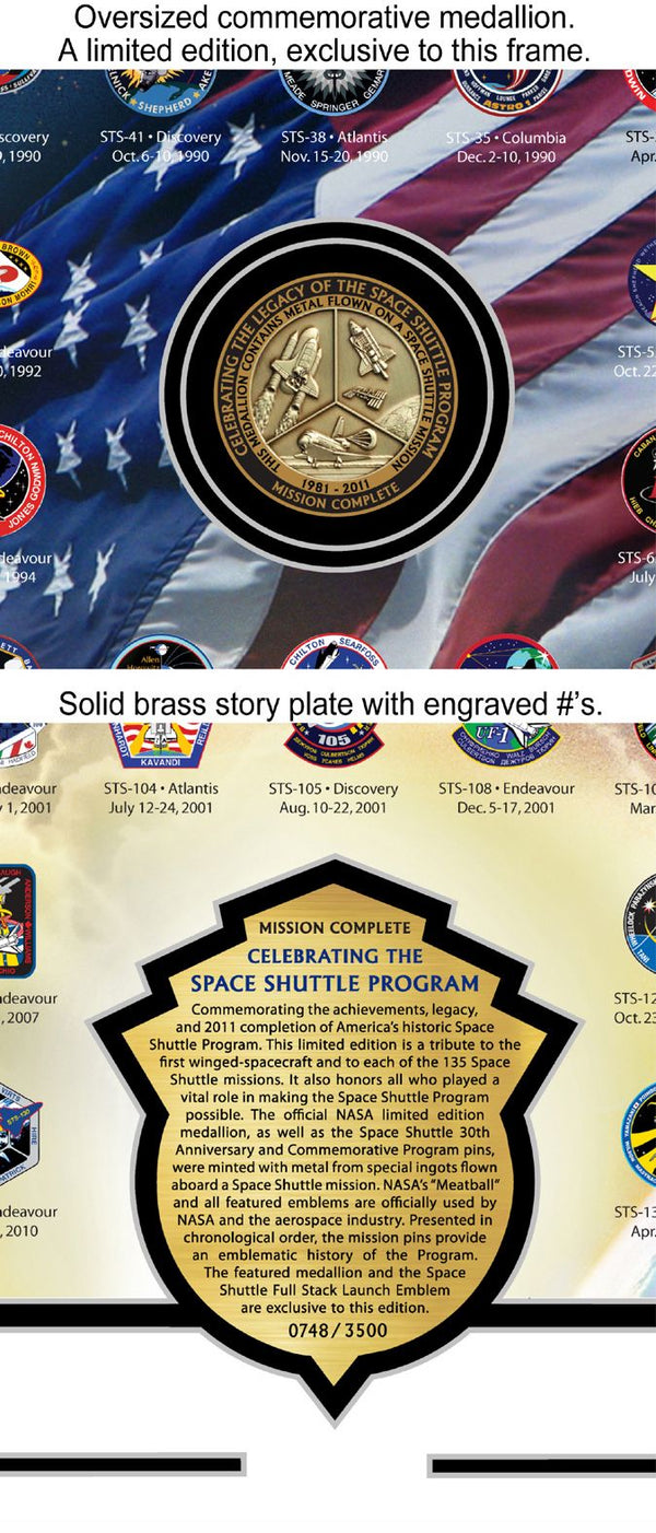 Celebrating the Space Shuttle Program - The Space Store