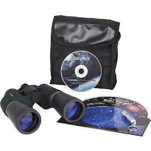 "Starry Night Stargazing 10"" x 50"" Binocular Kit"