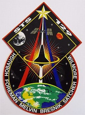 STS-129 Mission Sticker
