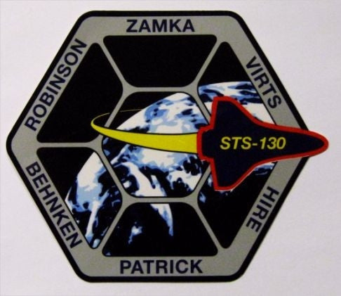 STS-130 Mission Sticker