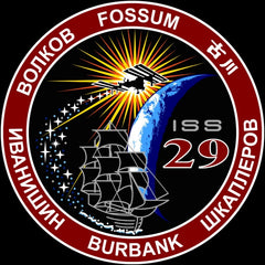 Expedition 29 Mission Sticker