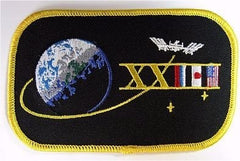 Expedition 23 Mission Sticker