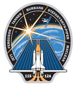 STS-115 Mission Decal