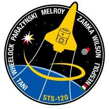 STS-120 Mission Sticker