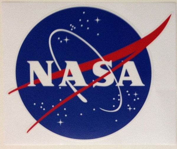 "NASA Logo 4"" Sticker - The Space Store"