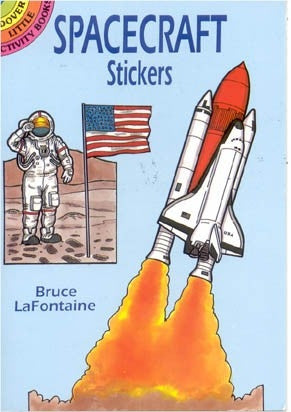 Spacecraft Sticker Book - The Space Store