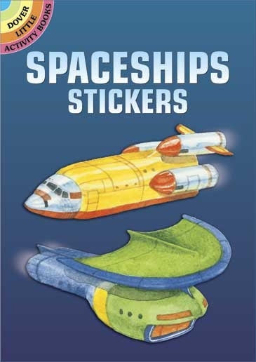 Spaceship Sticker Book