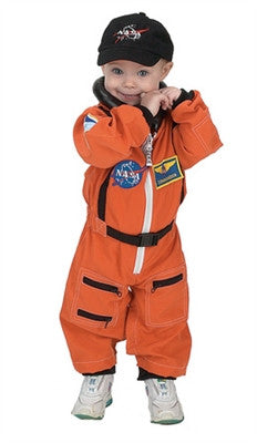 Space Shuttle Launch & Entry Astronaut Costume - Toddler