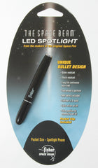 FISHER MATTE BLACK SPACE BEAM WITH WHITE LED SPOTLIGHT