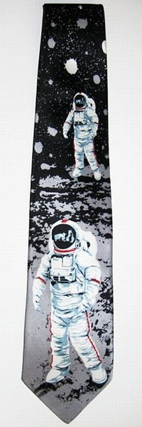 Moon Walk Tie (100% Silk)