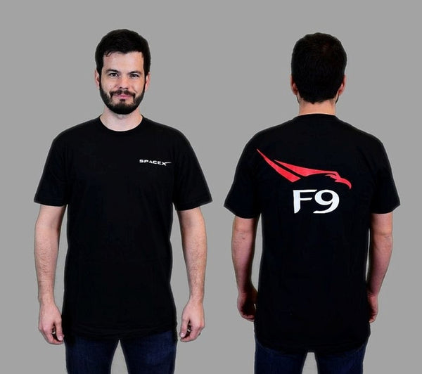 Falcon 9' T-Shirt (Black)