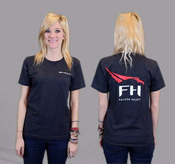 Falcon Heavy' T-Shirt (Heather Gray)