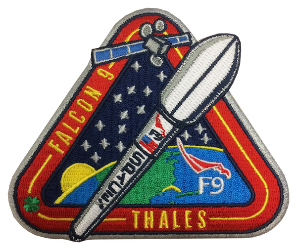 SPACEX THALES MISSION - F9 PATCH - The Space Store