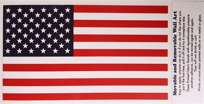 United States of America Flag - Removable Wall Art - The Space Store