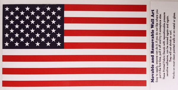 United States of America Flag - Removable Wall Art