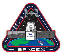 F9 CRS-8 MISSION PATCH