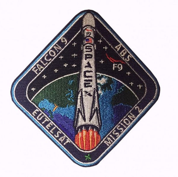 F9 ABS/Eutelsat-2 MISSION PATCH - The Space Store