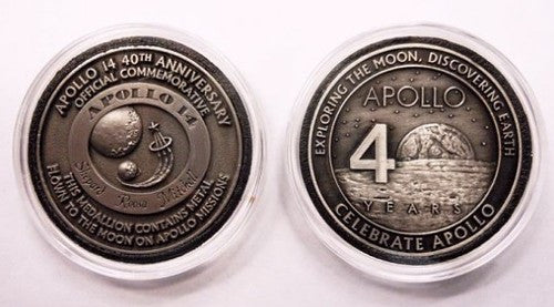 Apollo 14 Medallion - The Space Store