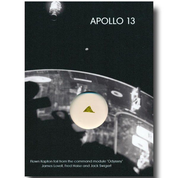 APOLLO 13 FLOWN KAPTON FOIL INSULATION MATERIAL - The Space Store