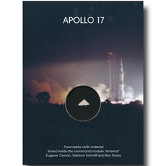 Apollo 17 Flown Beta Cloth Presentation