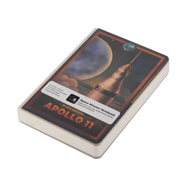 Apollo 11 50th Anniversary Space Mission AR Notebook   Pocket Size - The Space Store