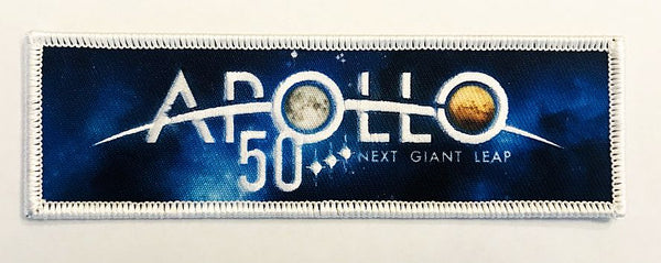 APOLLO 50 NEXT GIANT LEAP OFFICIAL PATCH - The Space Store