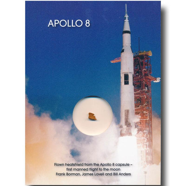 Apollo 8 FLOWN heatshield presentation - The Space Store