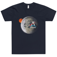 Artemis Moon and Mars Adult Unisex Shirt