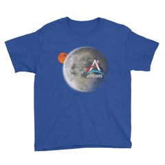 Artemis Moon and Mars Youth Shirt