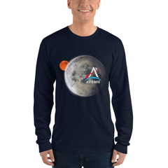 Artemis Moon and Mars Longsleeve Adult Shirt