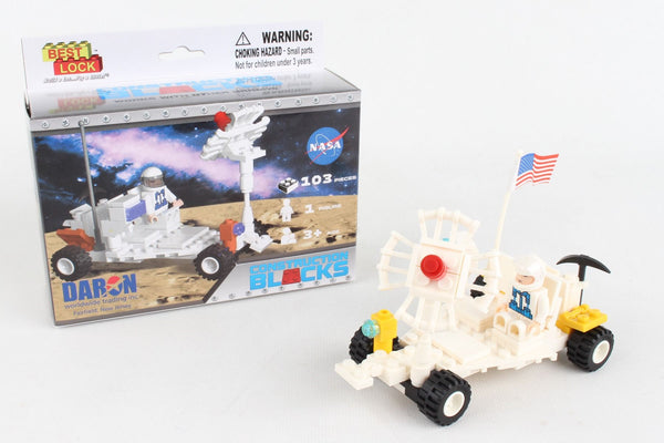 """Best Lock"" Moon Buggy - 103 Piece Construction Set"