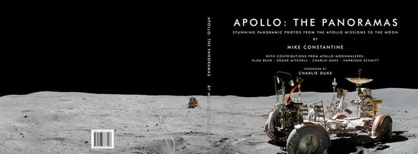 Apollo: The Panoramas - A Hardback Book by Mike Constantine - The Space Store