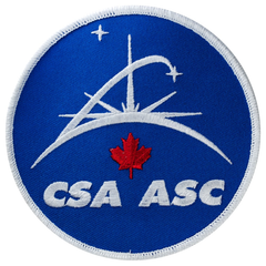 Canadian Space Agency Patch