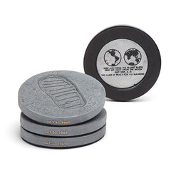 Apollo 11 Lunar Bootprint Coasters (set of 4)