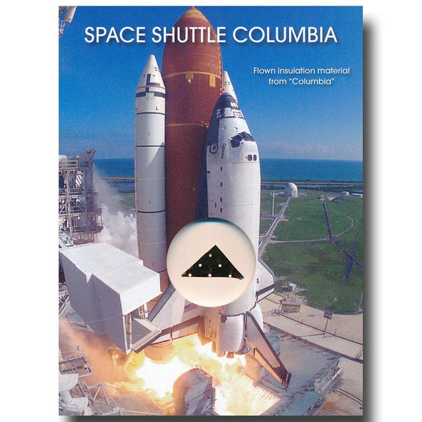 Space Shuttle Columbia Flown-in-Space Insulation Blanket - The Space Store