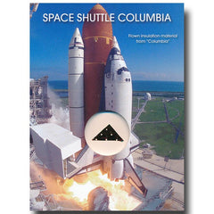 Space Shuttle Columbia Flown-in-Space Insulation Blanket