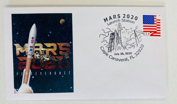 NASA JPL - MARS 2020 Perseverance Rover Launch cover