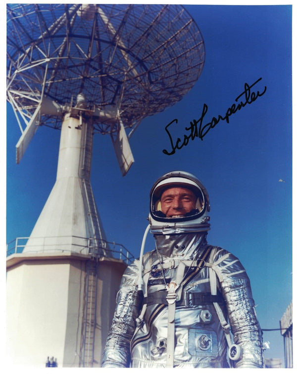 Scott Carpenter  signed photo - The Space Store