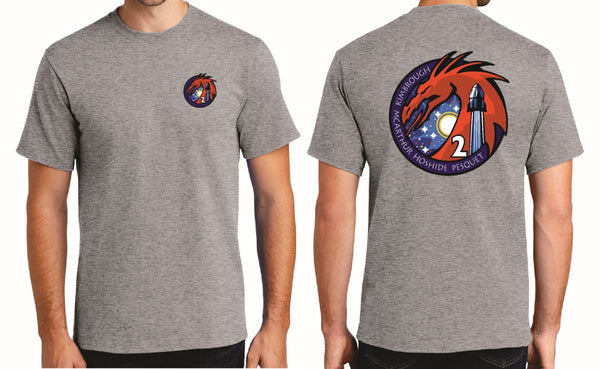 NASA SpaceX Crew-2 Mission Adult T-Shirt