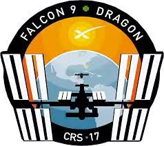 SPACEX CRS 17 MISSION PATCH - The Space Store