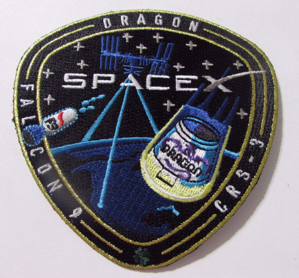 SpaceX CRS-3 Mission Patch - The Space Store