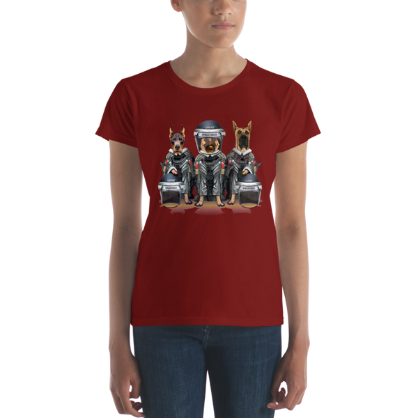 CANINE SPACEFORCE - LADIES CUT T-SHIRT - The Space Store
