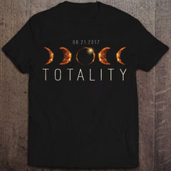 'TOTALITY' - TOTAL SOLAR ECLIPSE T-SHIRT (ADULT)