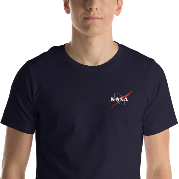 NASA EMBROIDERED 'VECTOR LOGO SHIRT - UNISEX - The Space Store