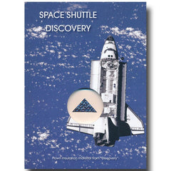 Space Shuttle Discovery Flown Blanket