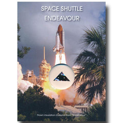 Space Shuttle Endeavour Flown-in-Space Insulation Blanket