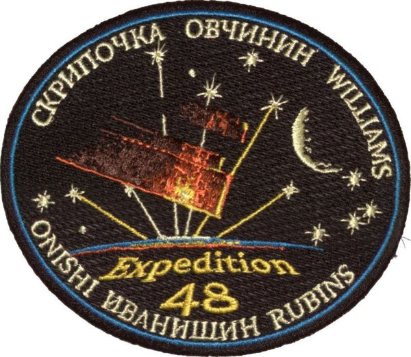 Expedition Mission 48 Patch